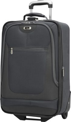 Skyway Epic 21-Inch 2-wheel Expandable Carry-on Black - Skyway Softside Carry-On