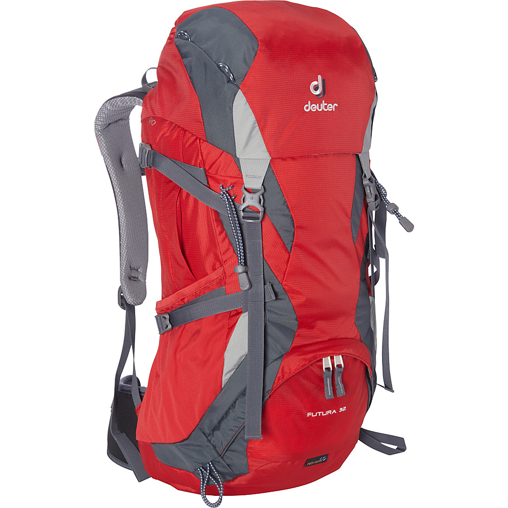 Deuter Futura 32 Fire Granite Silver Deuter Day Hiking Backpacks