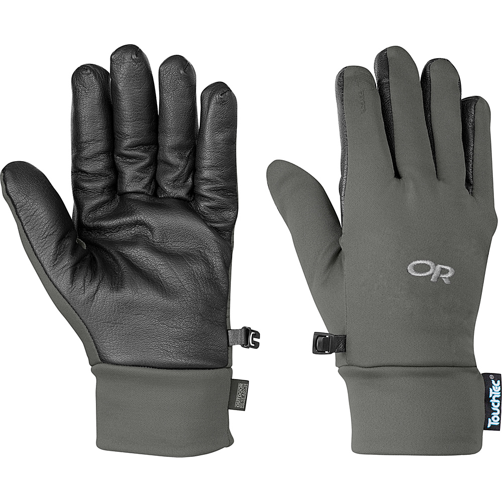 Outdoor Research Sensor Gloves Men's Pewter - SM - Outdoor Research Hats/Gloves/Scarves