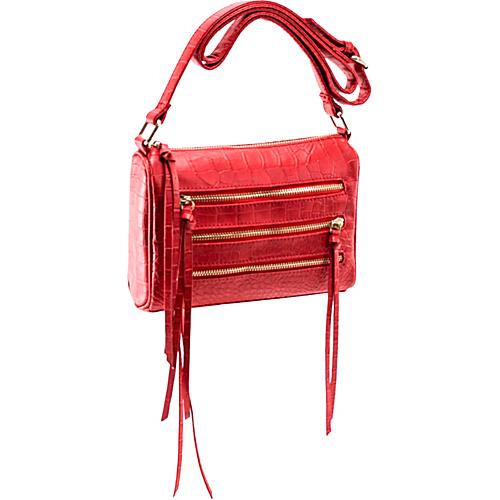 Parinda Minna Red - Parinda Manmade Handbags