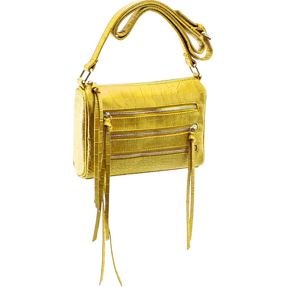 Parinda Minna Yellow - Parinda Manmade Handbags