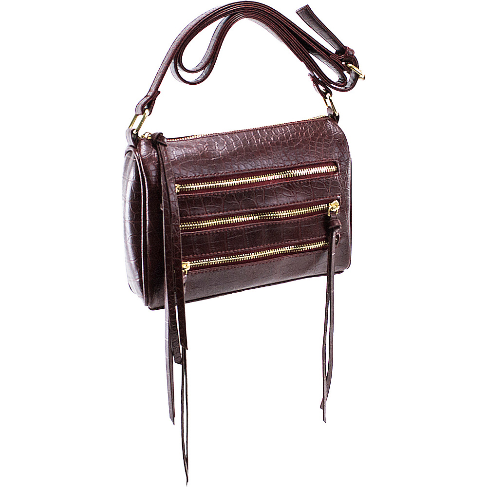 Parinda Minna Wine - Parinda Manmade Handbags