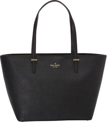 kate spade new york Cedar Street Small Harmony Tote Black - kate spade new york Designer Handbags