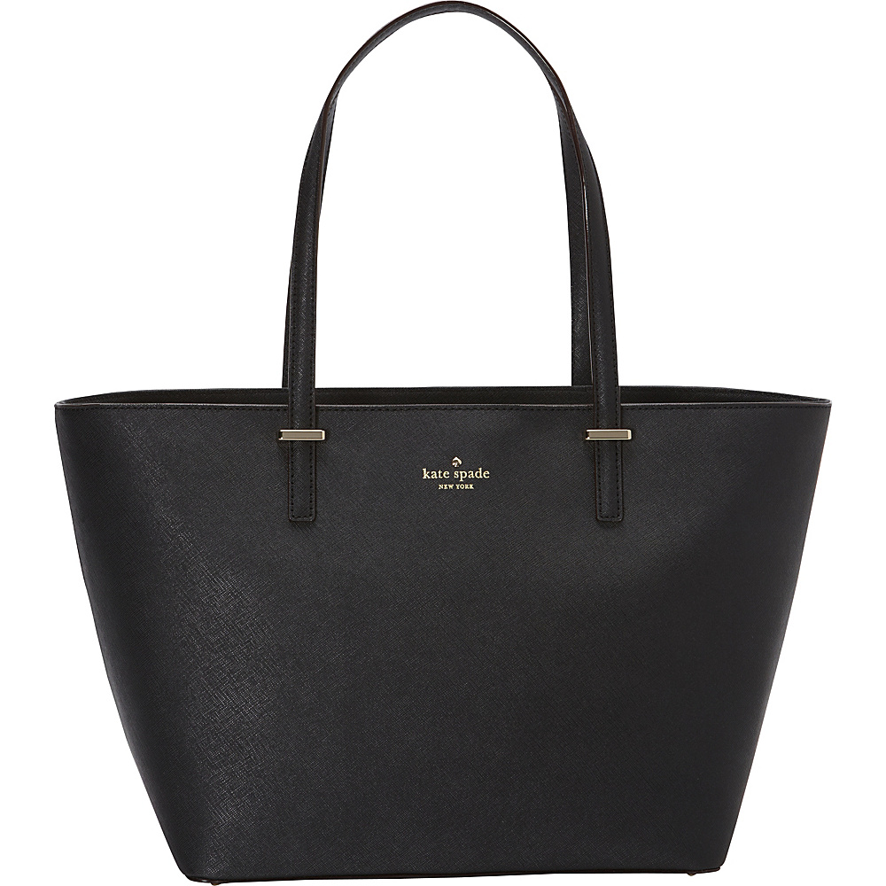 kate spade new york Cedar Street Small Harmony Tote Black - kate spade new york Designer Handbags