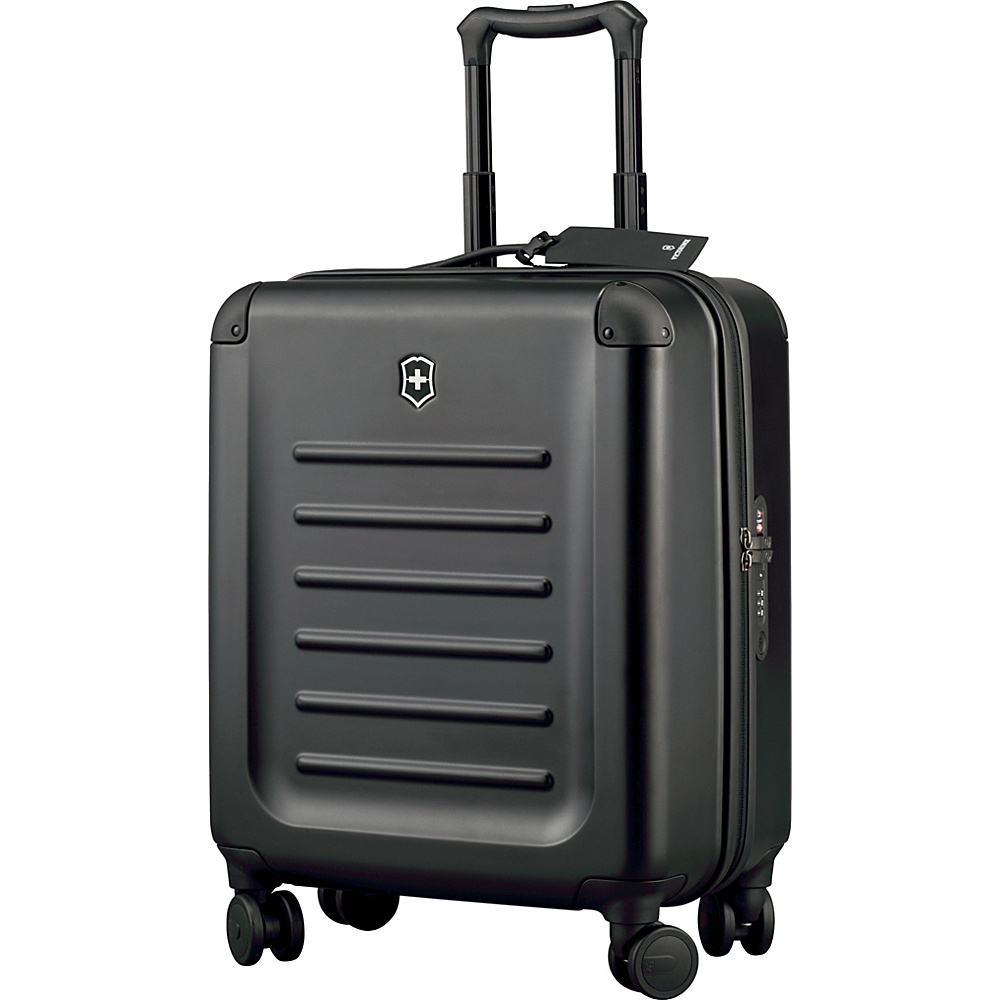 Victorinox Spectra 2.0 Extra Capacity Carry On Black Victorinox Softside Carry On