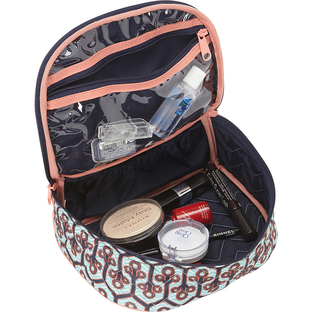 cinda b Train Case II Calypso - cinda b Toiletry Kits