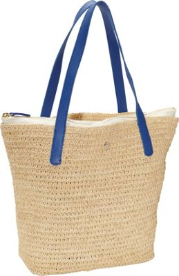 Helen Kaminski Davoli S Natural/Cyan - Helen Kaminski Designer Handbags