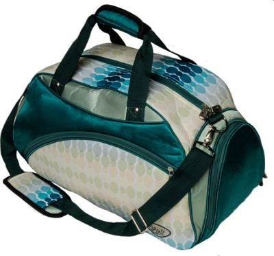 Glove It Duffle Bag Aqua Rain - Glove It Travel Duffels