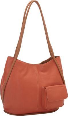 J. P. Ourse & Cie. Baxter Curry/Tan - J. P. Ourse & Cie. Leather Handbags