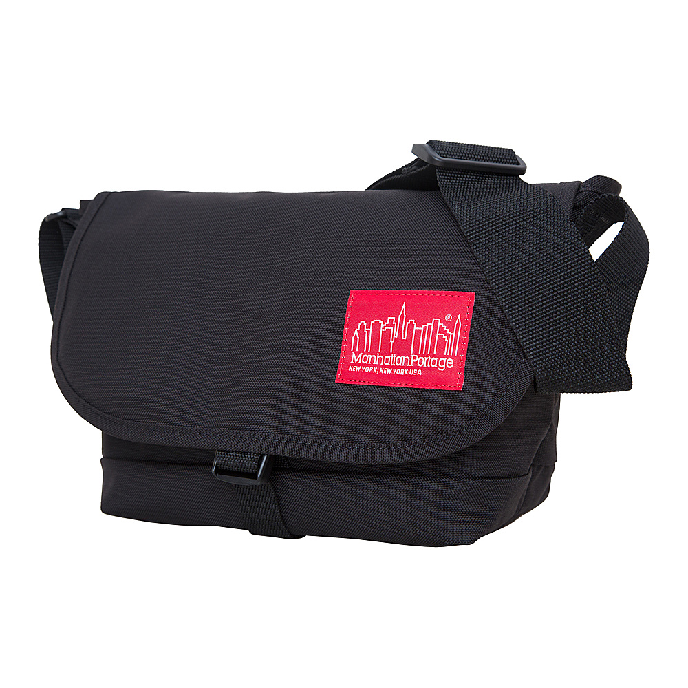 Manhattan Portage Straphanger Messenger (SM) Black - Manhattan Portage Messenger Bags - Work Bags & Briefcases, Messenger Bags