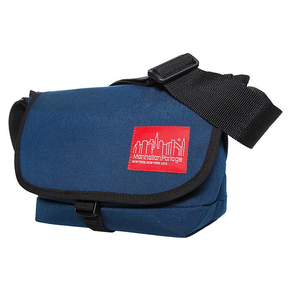 Manhattan Portage Straphanger Messenger (SM) Navy - Manhattan Portage Messenger Bags - Work Bags & Briefcases, Messenger Bags