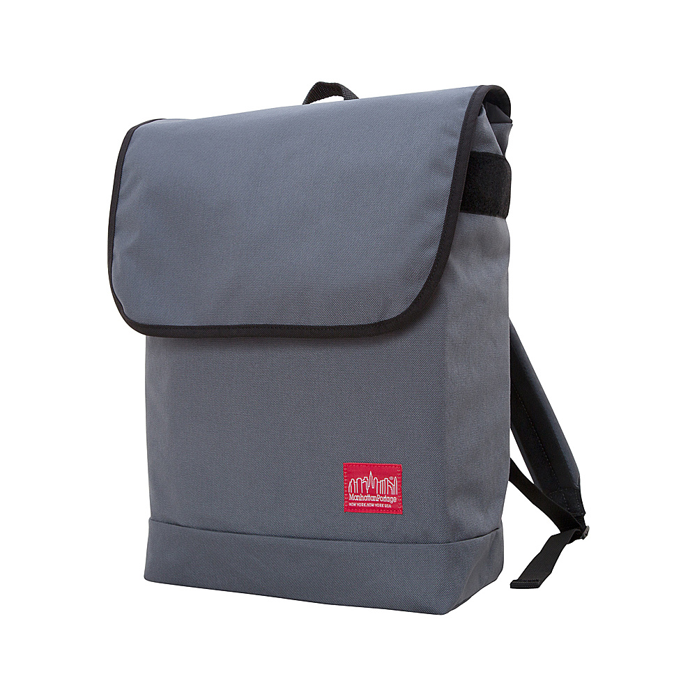 Manhattan Portage Gramercy Backpack Gray - Manhattan Portage Everyday Backpacks - Backpacks, Everyday Backpacks