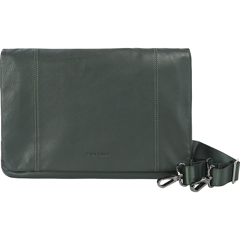 Tucano One Premium MacBook Air Clutch Bag Dark Green Tucano Non Wheeled Business Cases