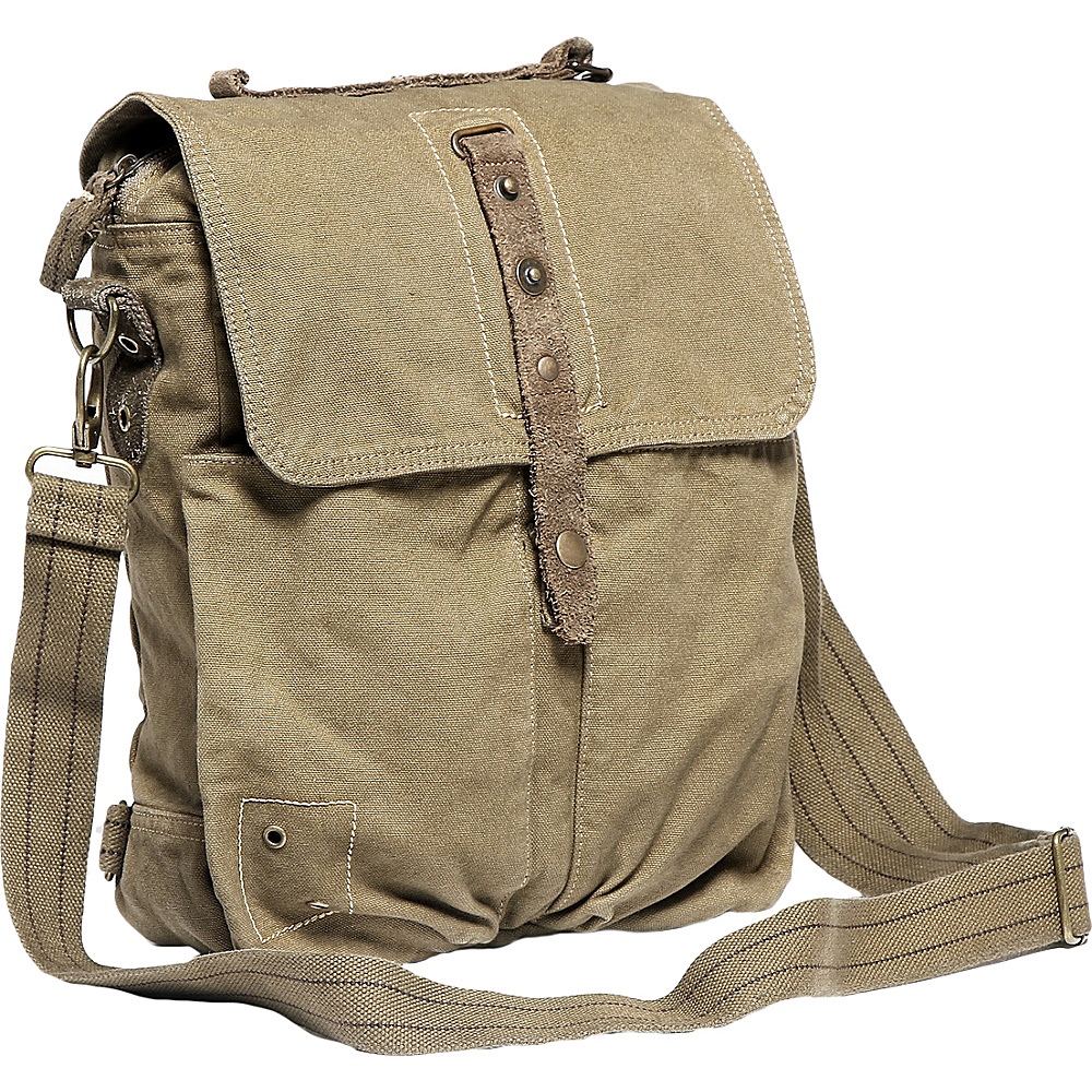 Vagabond Traveler Tall Casual 13 Messenger Shoulder Bag Light Green - Vagabond Traveler Other Mens Bags - Work Bags & Briefcases, Other Men's Bags