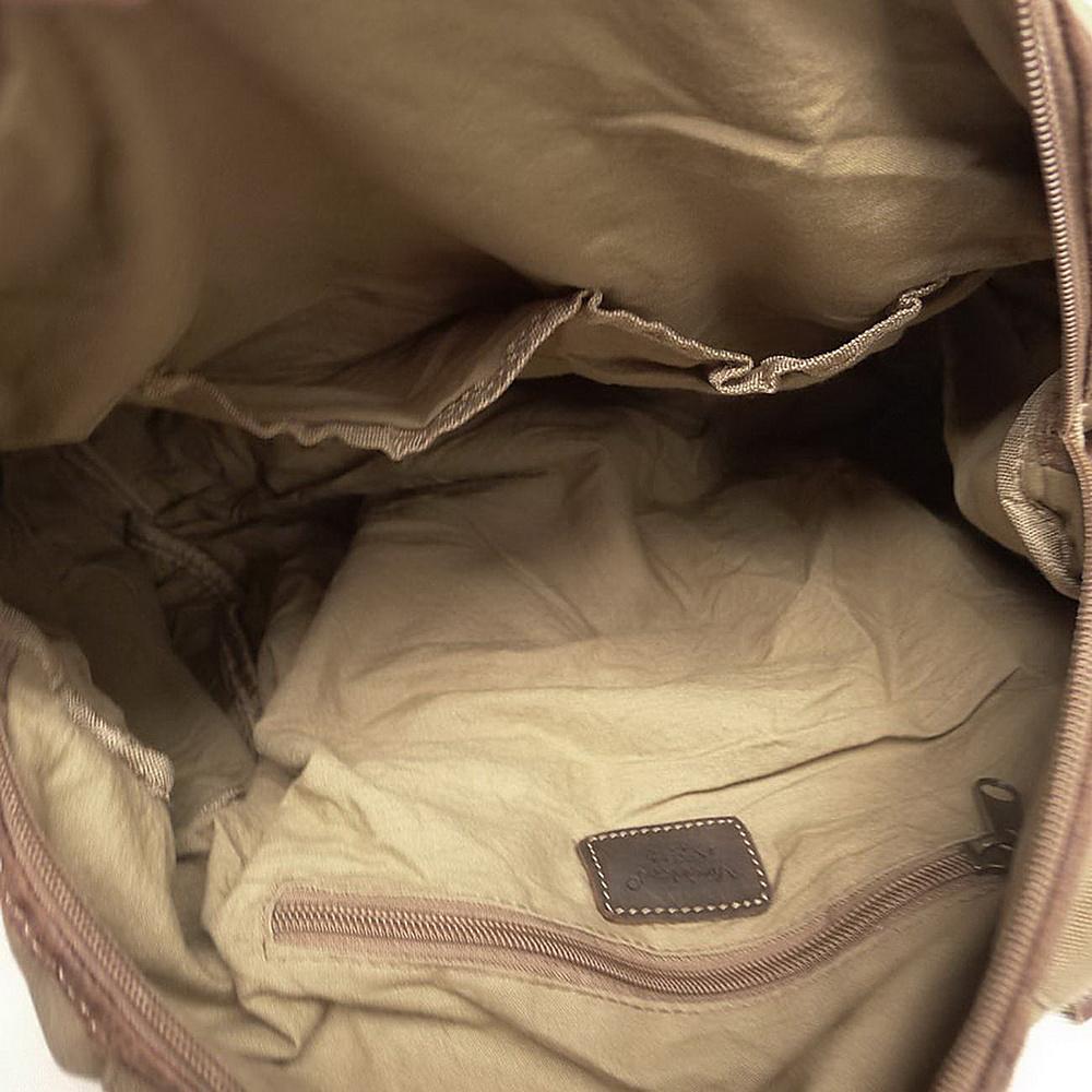 "Vagabond Traveler Tall 10"" Small Satchel Shoulder Bag Military Green - Vagabond Traveler Slings"
