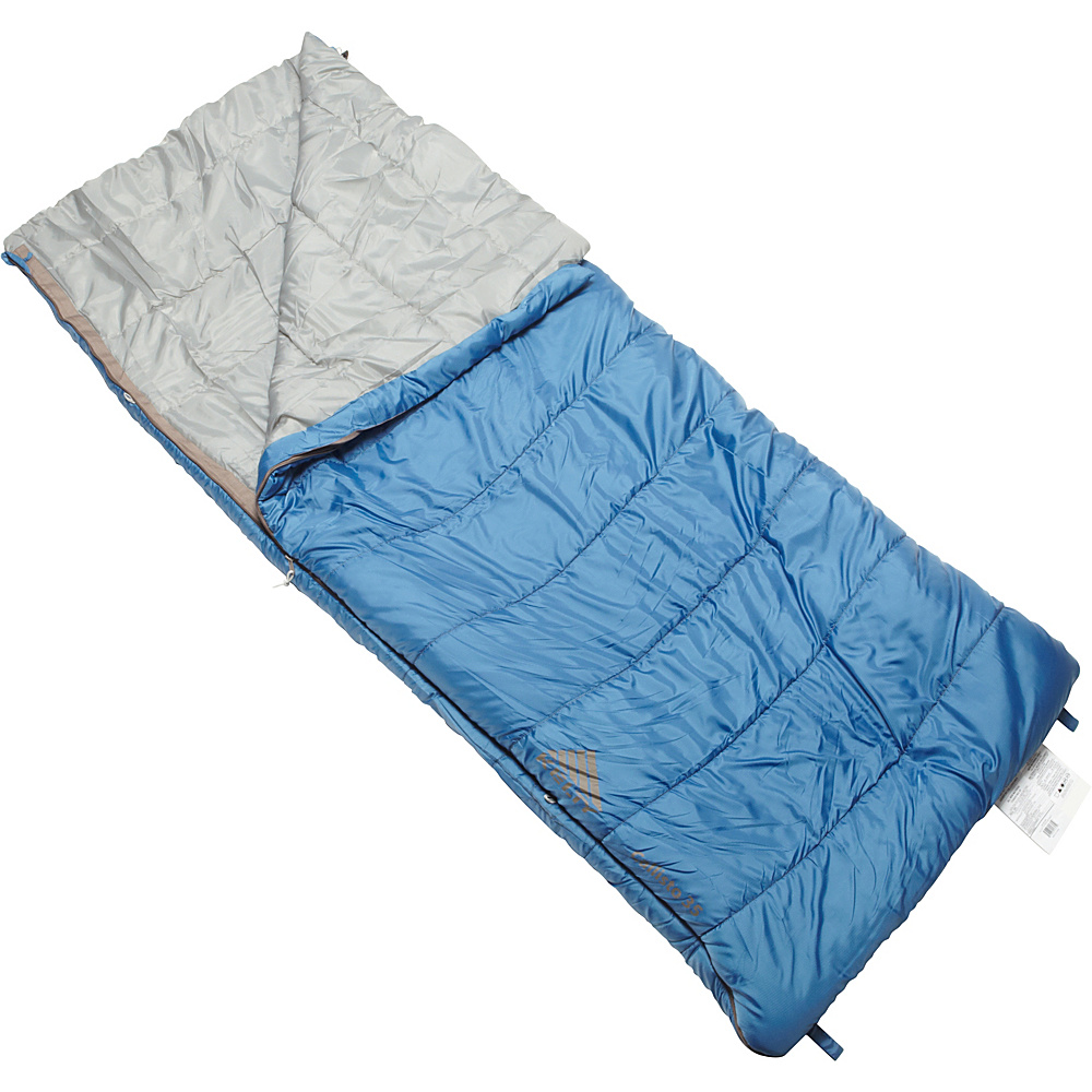 Kelty Callisto 35 Degree Sleeping Bag Regular RH Moroccan Blue Kelty Outdoor Accessories