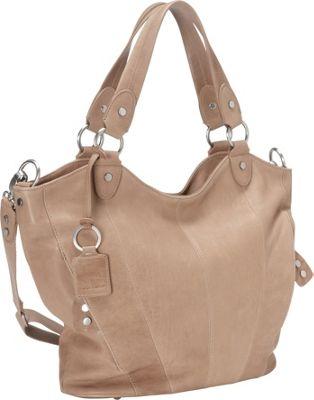 Ellington Handbags Eva Tote Taupe - Ellington Handbags Leather Handbags