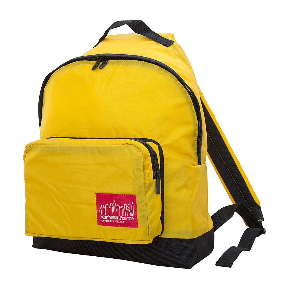 Manhattan Portage CORDURA Lite Big Apple Backpack (MD) Yellow - Manhattan Portage School & Day Hiking Backpacks
