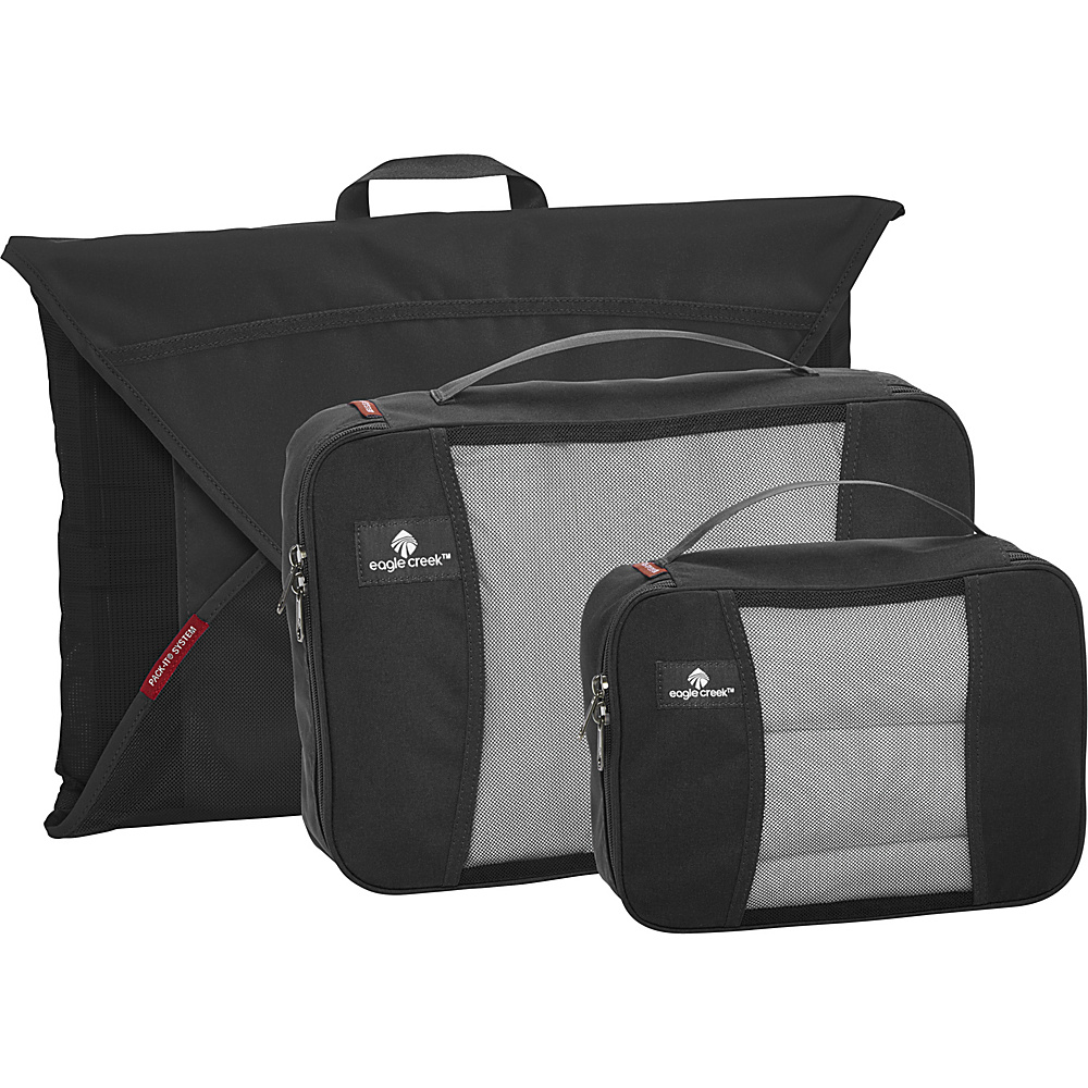 Eagle Creek Pack-It Starter Set Garment Folders Black - Eagle Creek Travel Organizers
