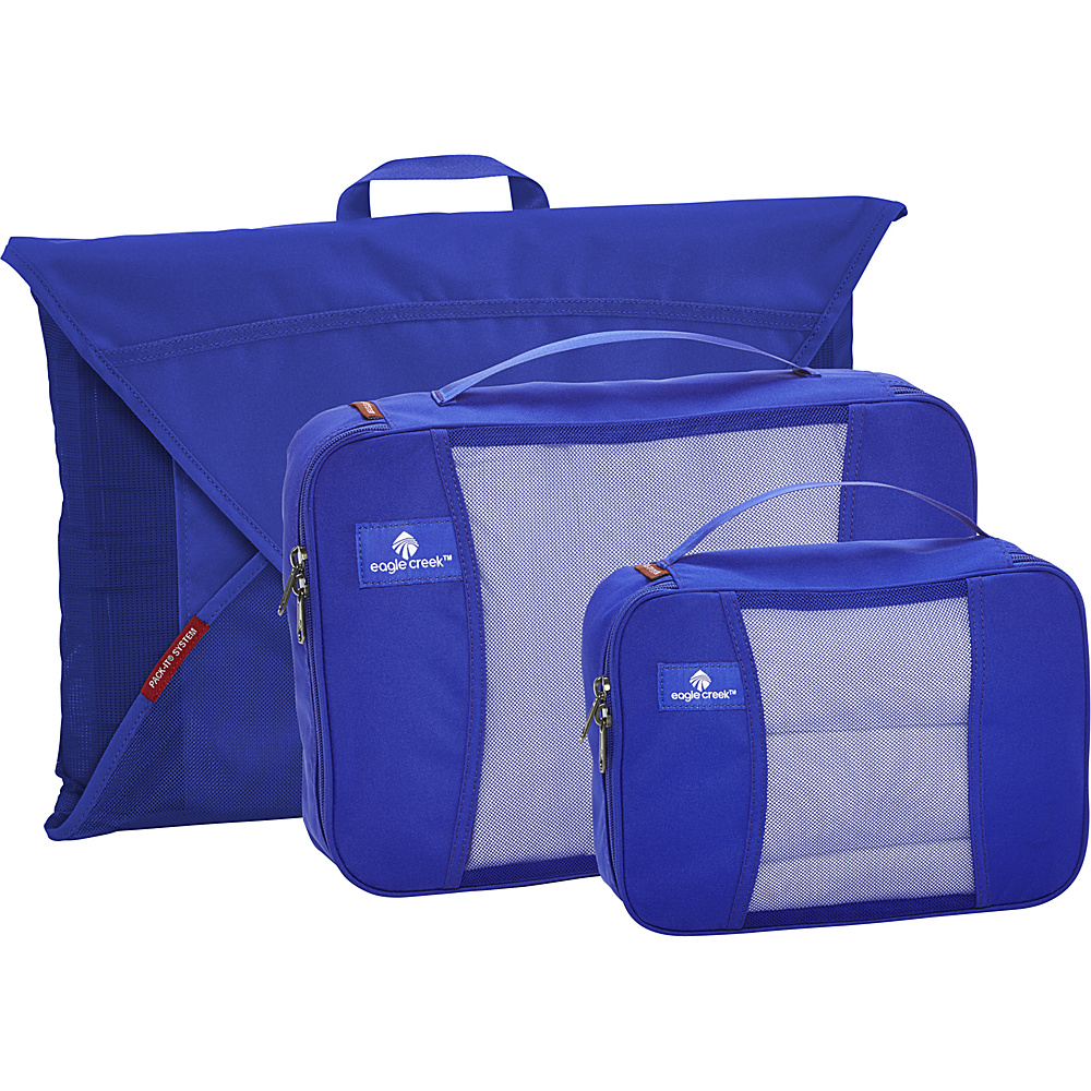 Eagle Creek Pack it Original Starter Set Blue Sea - Eagle Creek Travel Organizers - Travel Accessories, Travel Organizers