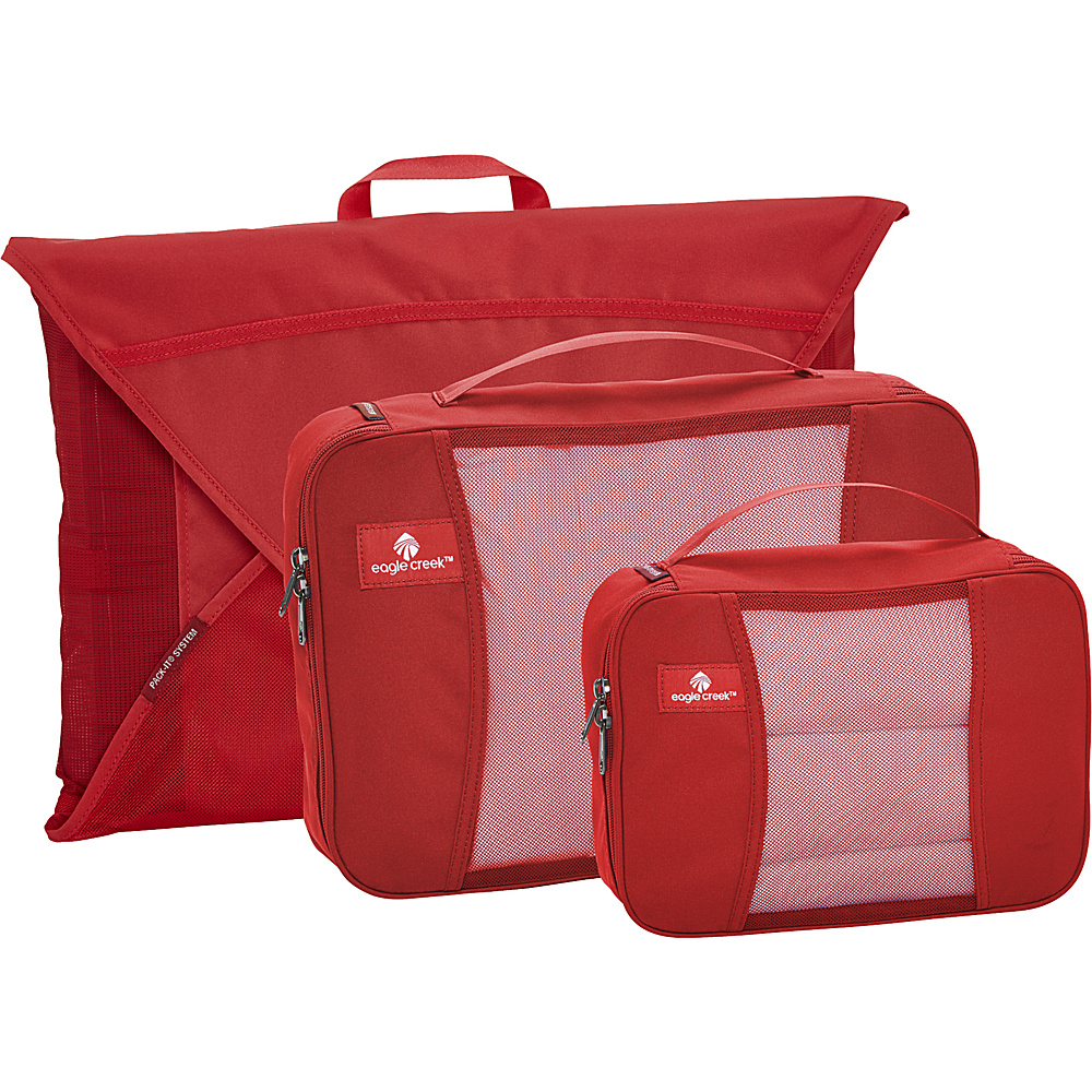 Eagle Creek Pack it Original Starter Set Red Fire - Eagle Creek Travel Organizers - Travel Accessories, Travel Organizers