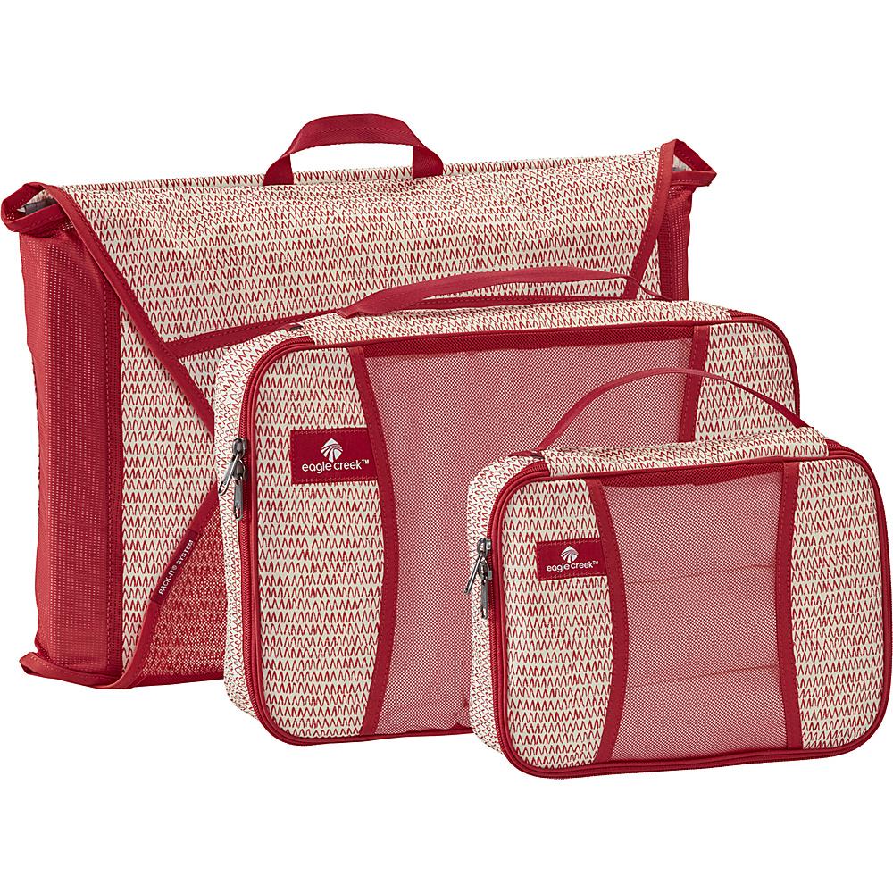Eagle Creek Pack-It Starter Set Garment Folders Repeak Red - Eagle Creek Travel Organizers - Travel Accessories, Travel Organizers