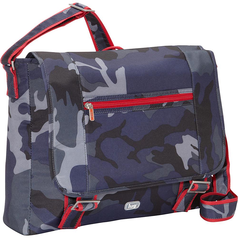 Lug Jockey Messenger Bag Camo Navy Lug Messenger Bags