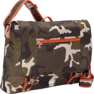 Lug Jockey Messenger Bag Camo Olive - Lug Messenger Bags