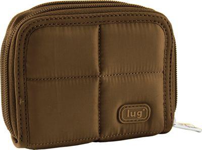 Lug Splits Compact Wallet Chocolate - Lug Women's Wallets