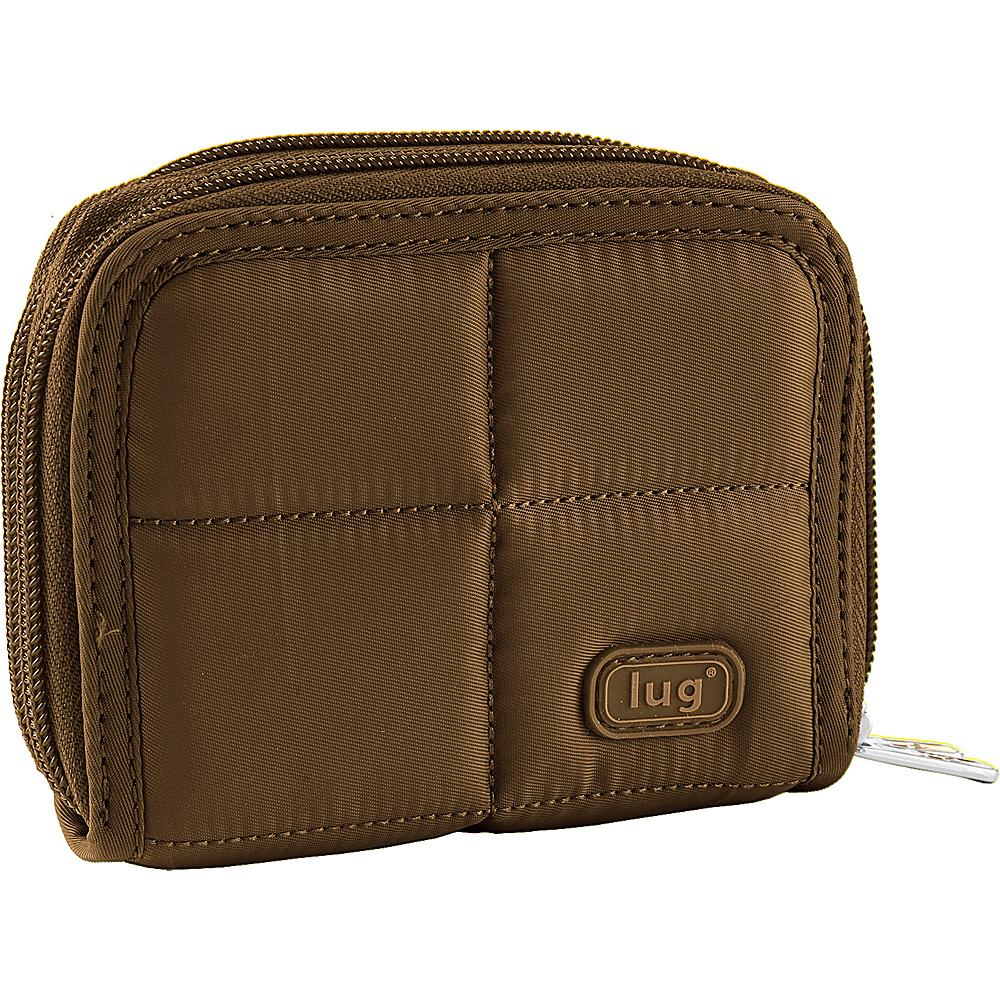 Lug Splits Compact Wallet Chocolate Lug Women s Wallets
