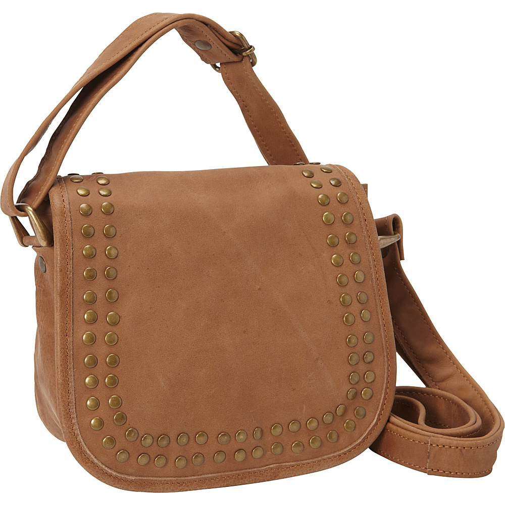 Sharo Leather Bags Cross Body Bag Brown and Green Two Tone Sharo Leather Bags Leather Handbags