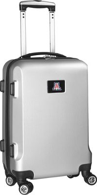 "Denco Sports Luggage NCAA 20"""" Domestic Carry-On Silver University of Arizona Wildcats - Denco Sports Luggage Hardside Carry-On"" 10299064"