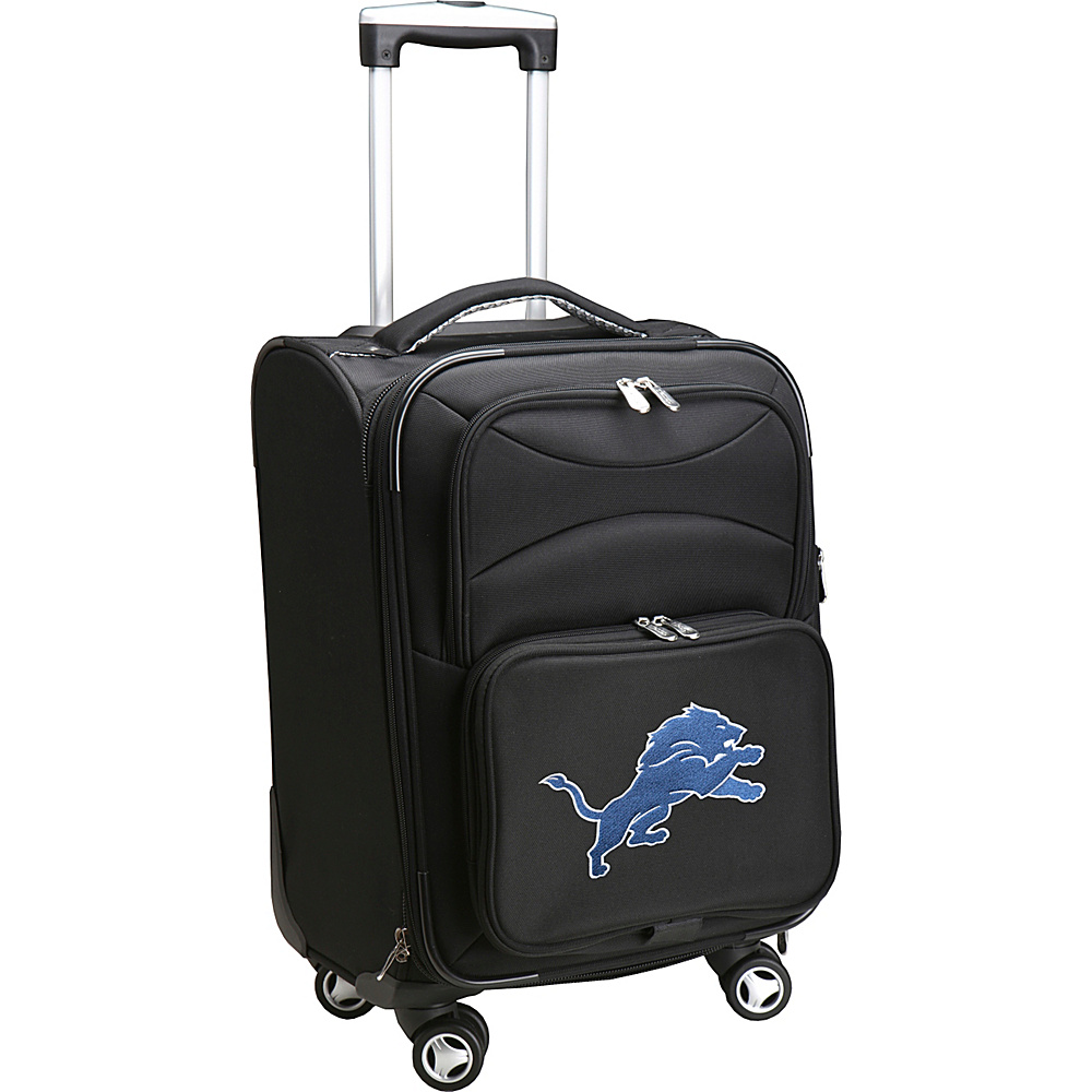 Denco Sports Luggage NFL 20 Domestic Carry-On Spinner Detroit Lions - Denco Sports Luggage Softside Carry-On - Luggage, Softside Carry-On
