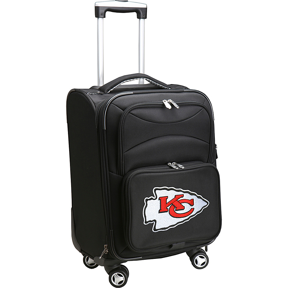 Denco Sports Luggage NFL 20 Domestic Carry-On Spinner Kansas City Chiefs - Denco Sports Luggage Softside Carry-On - Luggage, Softside Carry-On