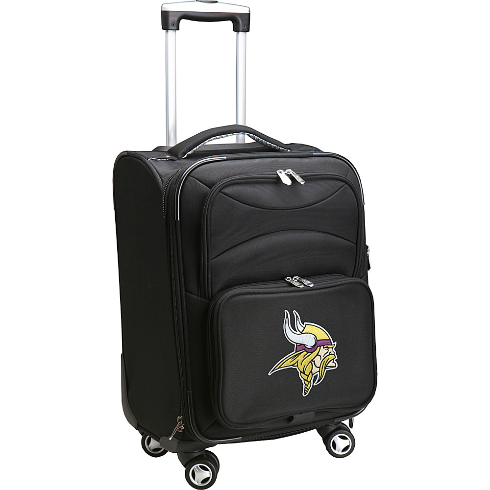 Denco Sports Luggage NFL 20 Domestic Carry-On Spinner Minnesota Vikings - Denco Sports Luggage Softside Carry-On - Luggage, Softside Carry-On