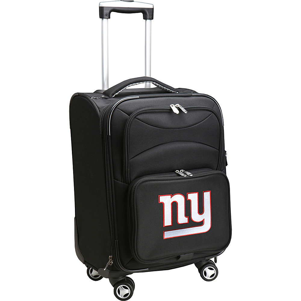 Denco Sports Luggage NFL 20 Domestic Carry-On Spinner New York Giants - Denco Sports Luggage Softside Carry-On - Luggage, Softside Carry-On