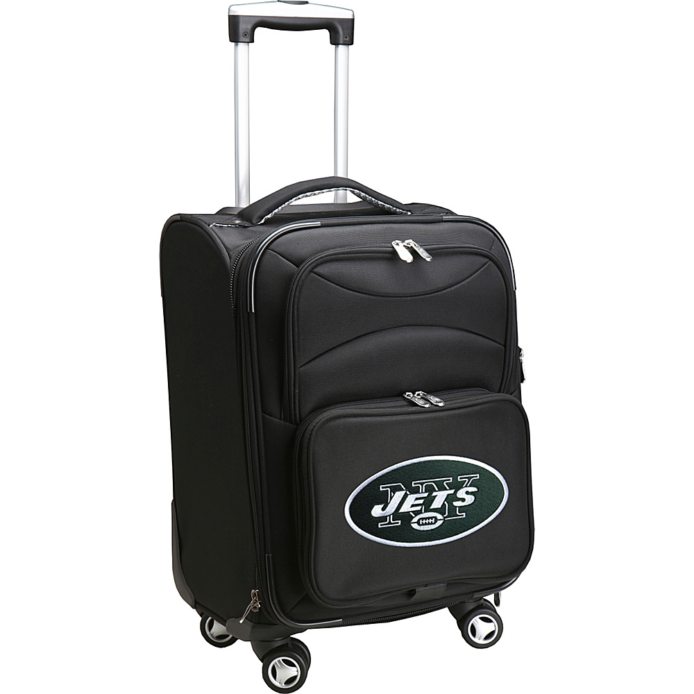 Denco Sports Luggage NFL 20 Domestic Carry-On Spinner New York Jets - Denco Sports Luggage Softside Carry-On - Luggage, Softside Carry-On