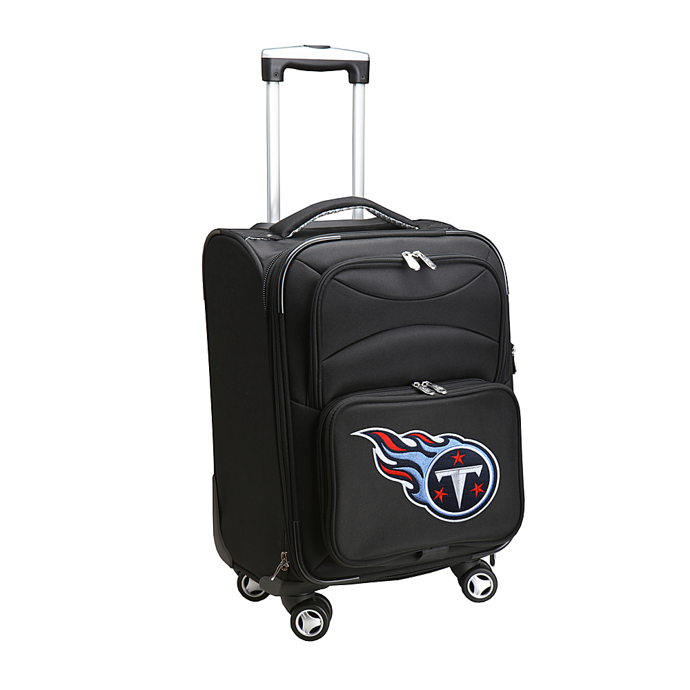 Denco Sports Luggage NFL 20 Domestic Carry-On Spinner Tennessee Titans - Denco Sports Luggage Softside Carry-On - Luggage, Softside Carry-On