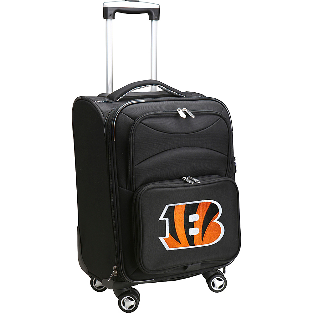 Denco Sports Luggage NFL 20 Domestic Carry-On Spinner Cincinnati Bengals - Denco Sports Luggage Softside Carry-On - Luggage, Softside Carry-On