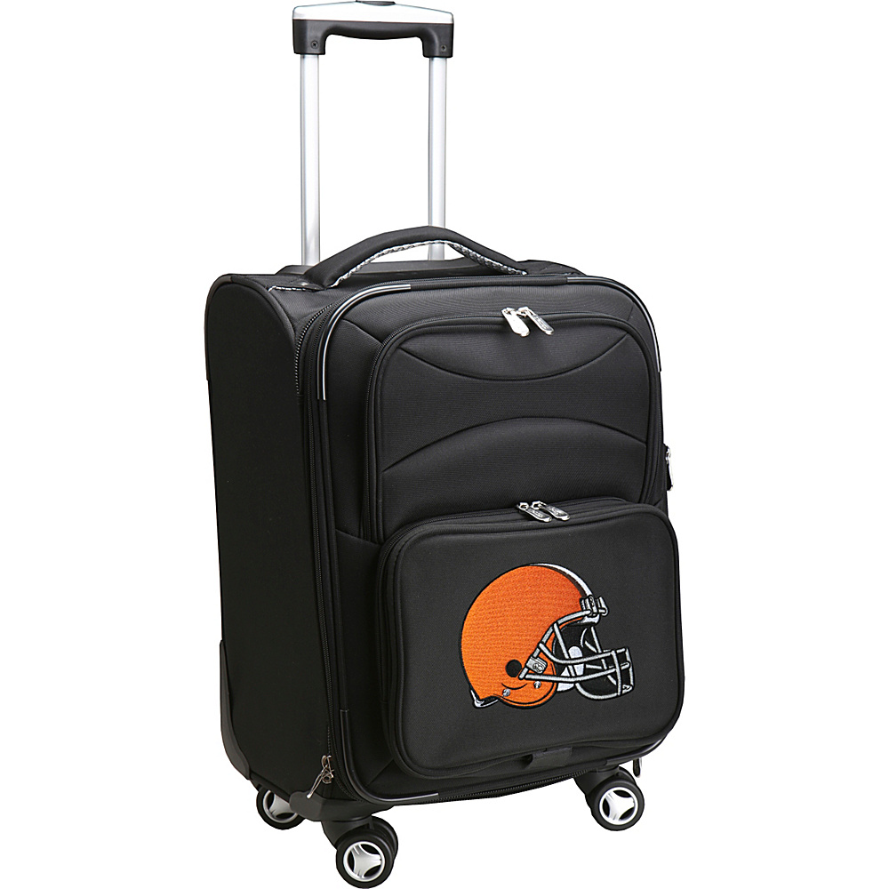 Denco Sports Luggage NFL 20 Domestic Carry-On Spinner Cleveland Browns - Denco Sports Luggage Softside Carry-On - Luggage, Softside Carry-On