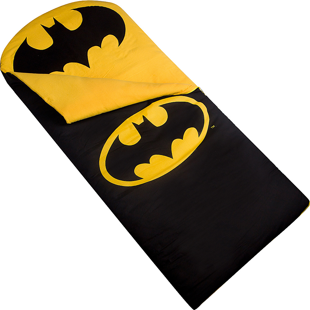 Wildkin Batman Emblem Sleeping Bag Batman - Wildkin Travel Pillows & Blankets