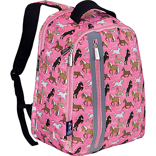 Wildkin Horses in Pink Echo Backpack Horses in Pink - Wildkin School & Day Hiking Backpacks