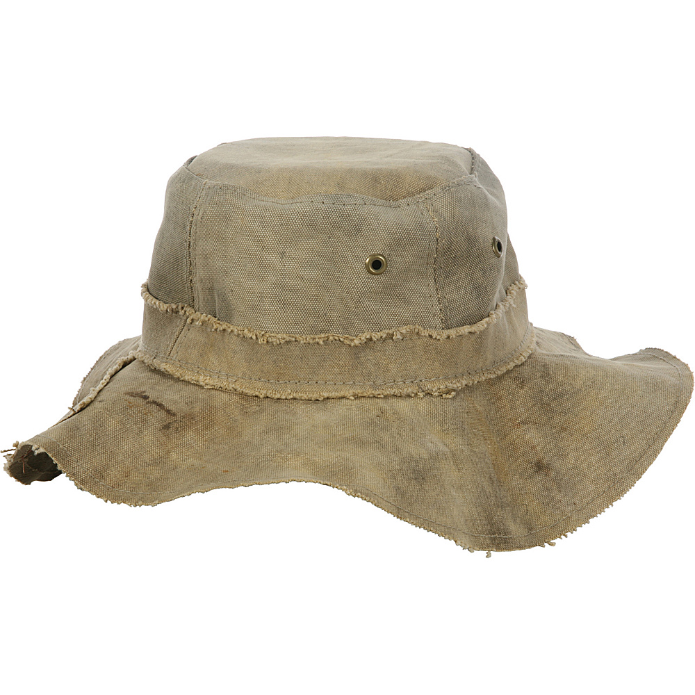 The Real Deal Floppy Hat - Medium One Size - Canvas - The Real Deal Hats/Gloves/Scarves