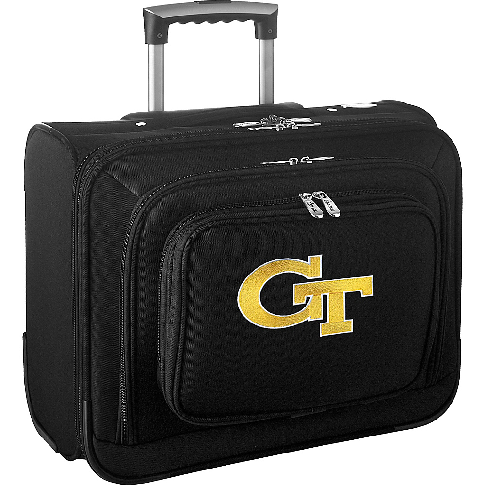 Denco Sports Luggage NCAA 14 Laptop Overnighter Georgia Institute of Technology Yellow Jackets - Denco Sports Luggage Wheeled Business Cases - Work Bags & Briefcases, Wheeled Business Cases