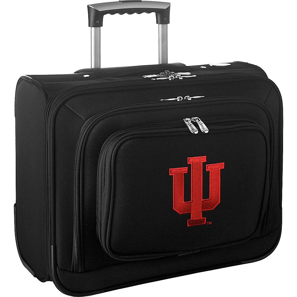 Denco Sports Luggage NCAA 14 Laptop Overnighter Indiana University Hoosiers - Denco Sports Luggage Wheeled Business Cases - Work Bags & Briefcases, Wheeled Business Cases