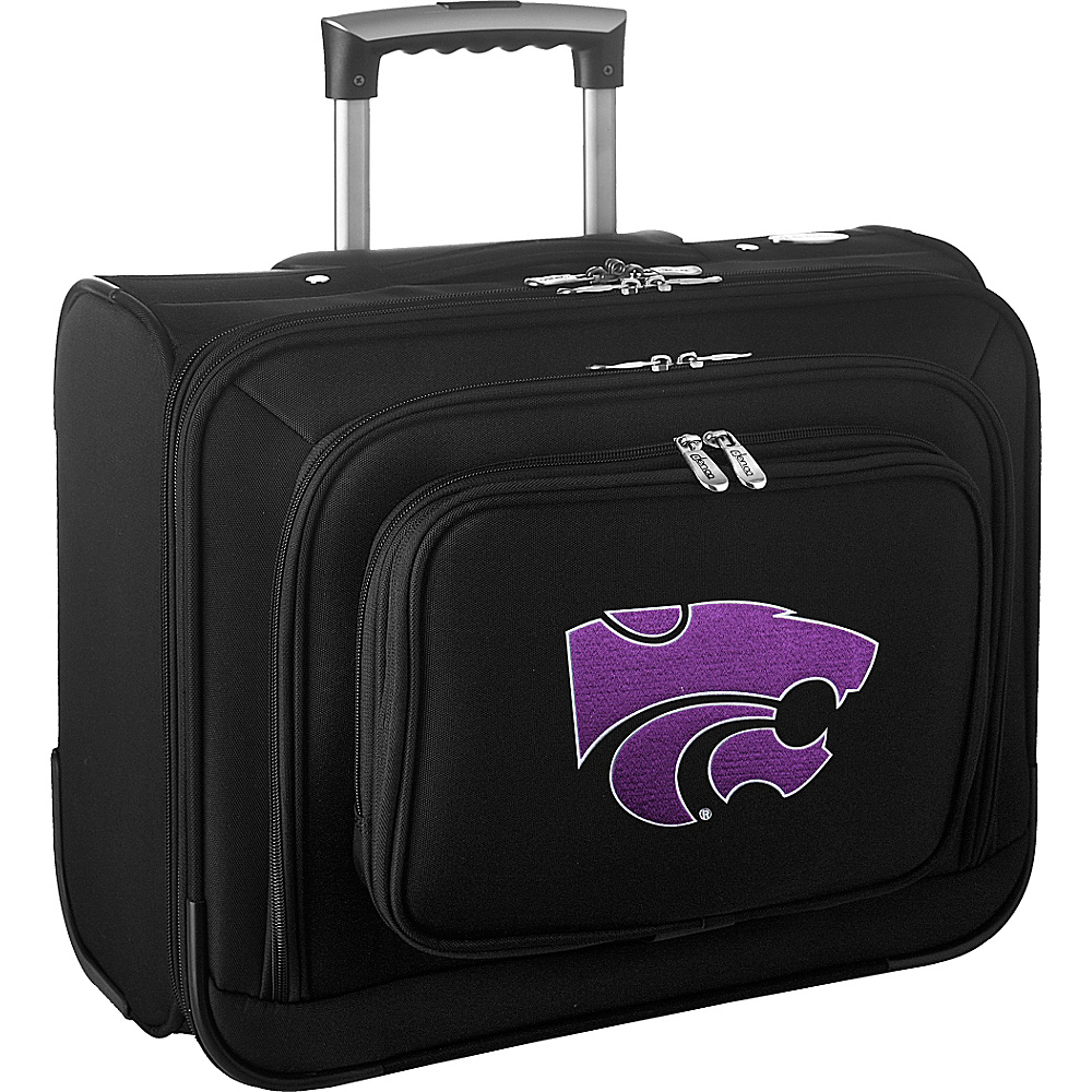 Denco Sports Luggage NCAA 14 Laptop Overnighter Kansas State University Wildcats - Denco Sports Luggage Wheeled Business Cases - Work Bags & Briefcases, Wheeled Business Cases
