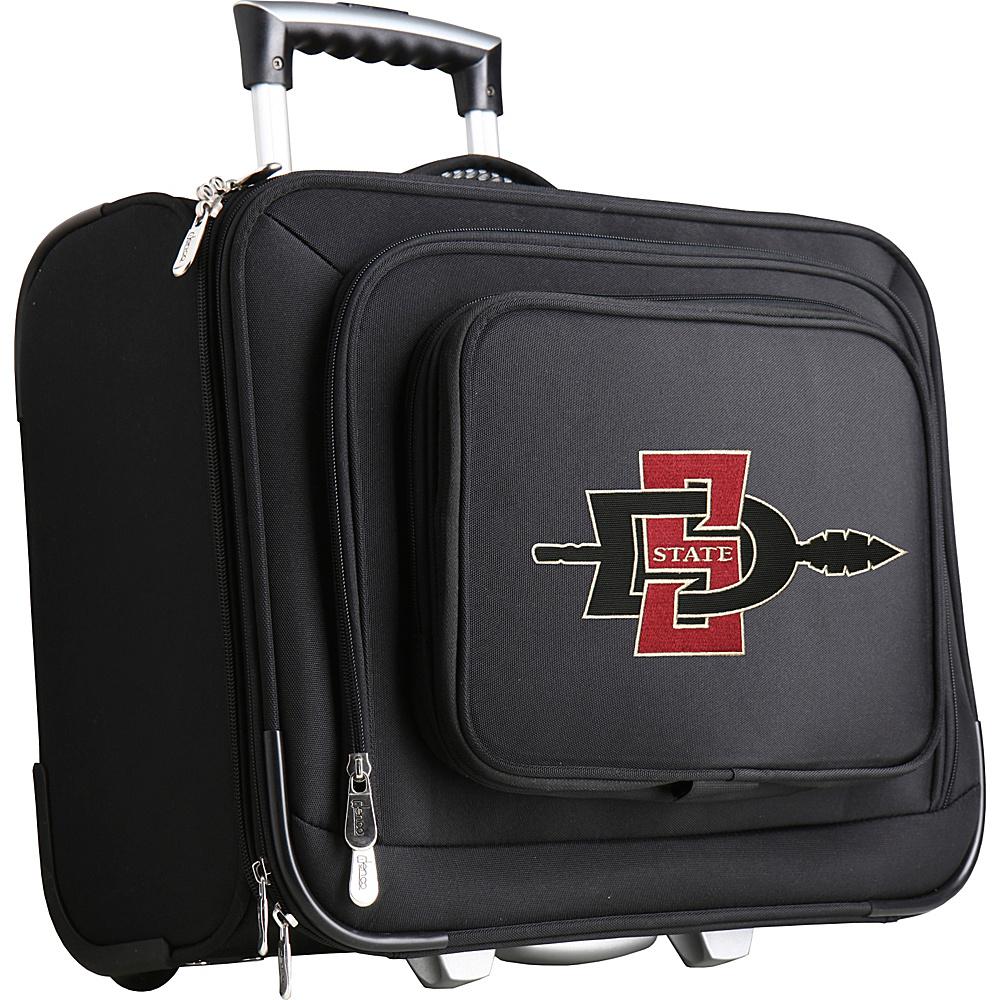 Denco Sports Luggage NCAA 14 Laptop Overnighter San Diego State University Aztecs - Denco Sports Luggage Wheeled Business Cases - Work Bags & Briefcases, Wheeled Business Cases