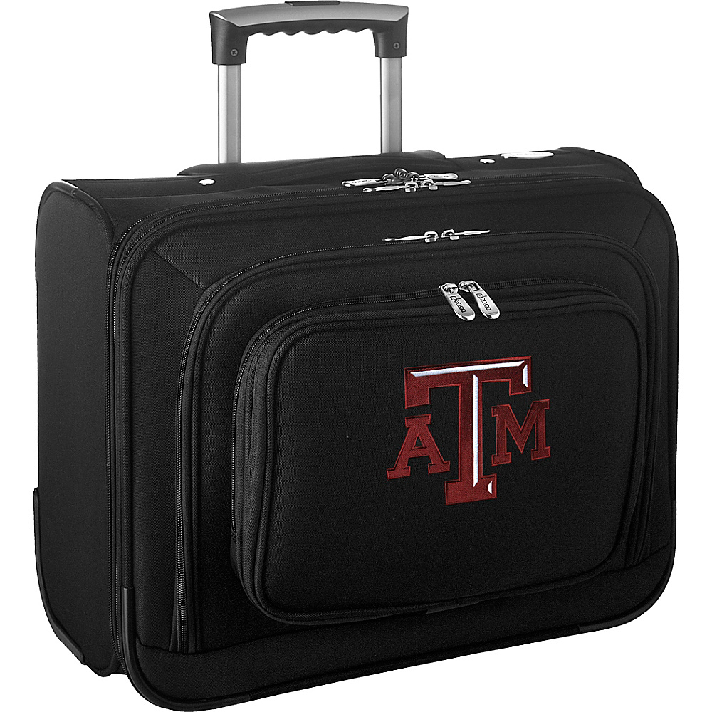 Denco Sports Luggage NCAA 14 Laptop Overnighter Texas A&M University Aggies - Denco Sports Luggage Wheeled Business Cases - Work Bags & Briefcases, Wheeled Business Cases
