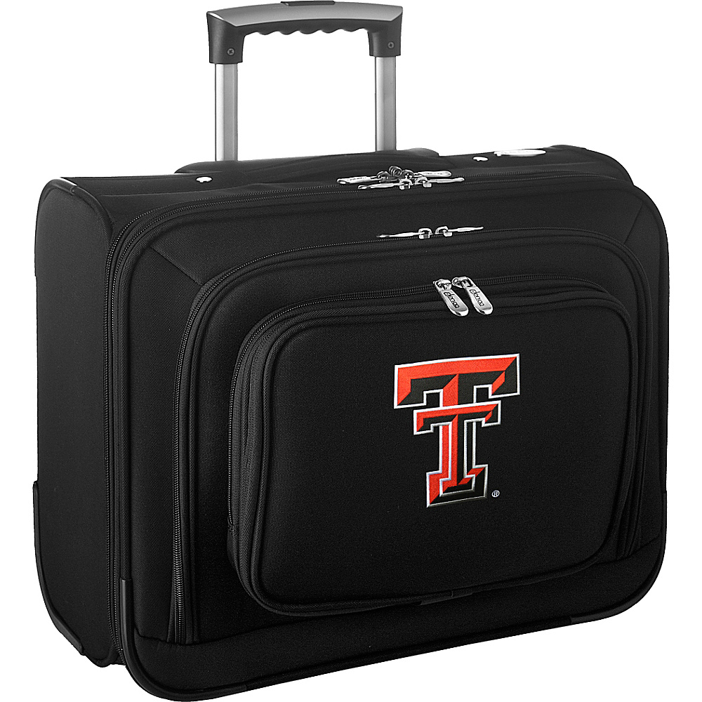 Denco Sports Luggage NCAA 14 Laptop Overnighter Texas Tech University Red Raiders - Denco Sports Luggage Wheeled Business Cases - Work Bags & Briefcases, Wheeled Business Cases