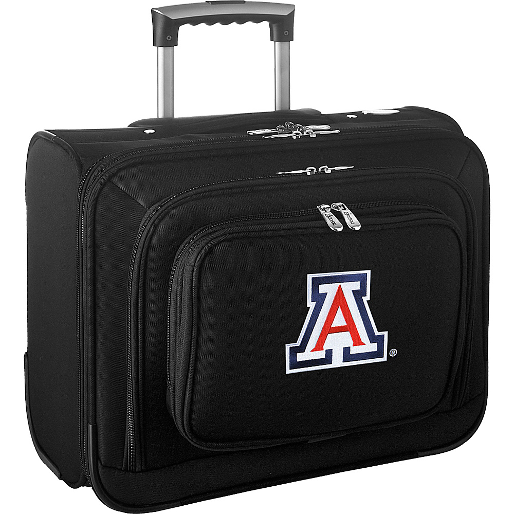 Denco Sports Luggage NCAA 14 Laptop Overnighter University of Arizona Wildcats - Denco Sports Luggage Wheeled Business Cases - Work Bags & Briefcases, Wheeled Business Cases